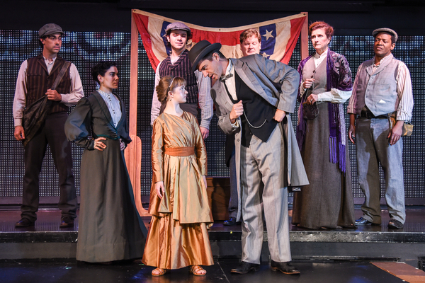 Abigail as Liberty in Liberty: A Monumental New Musical