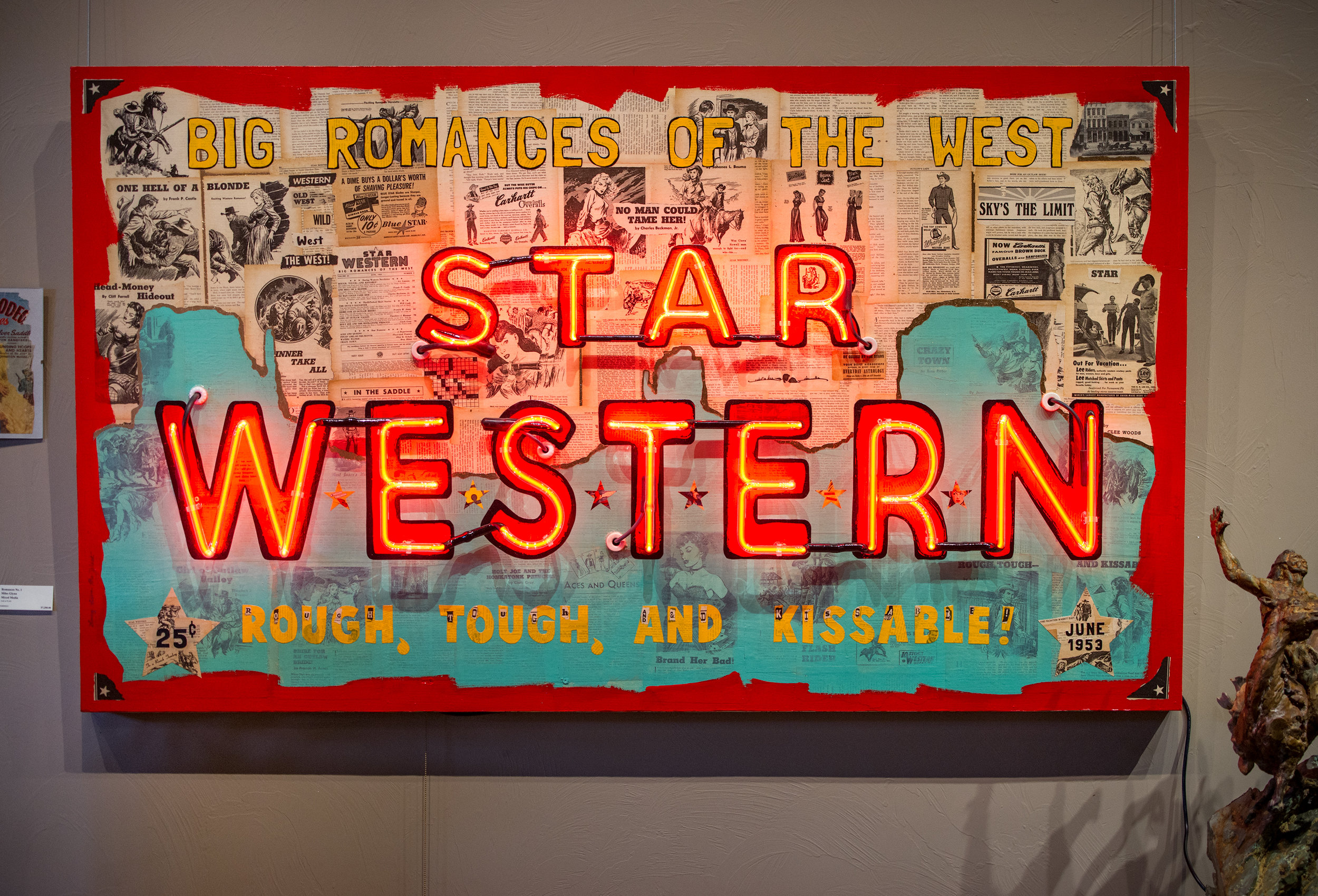"Star Western No. 1 || 72"" x 42"" 