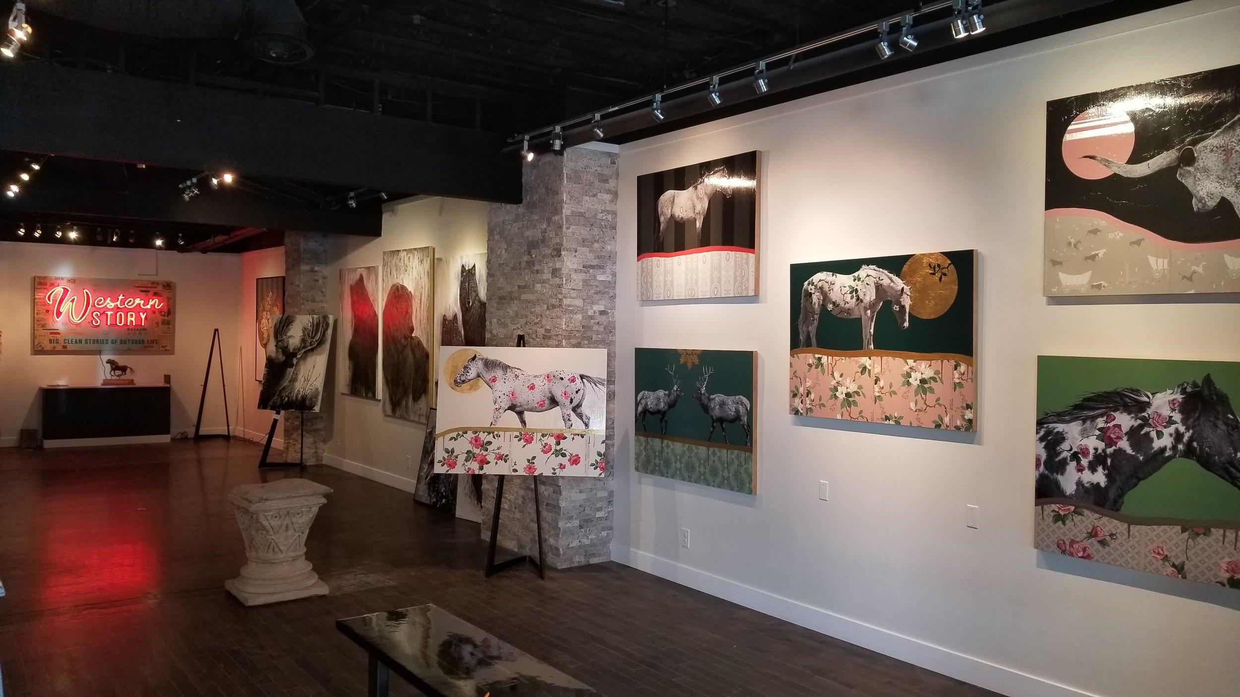 Wallflower Originals at Art Elevated in Park City, Utah