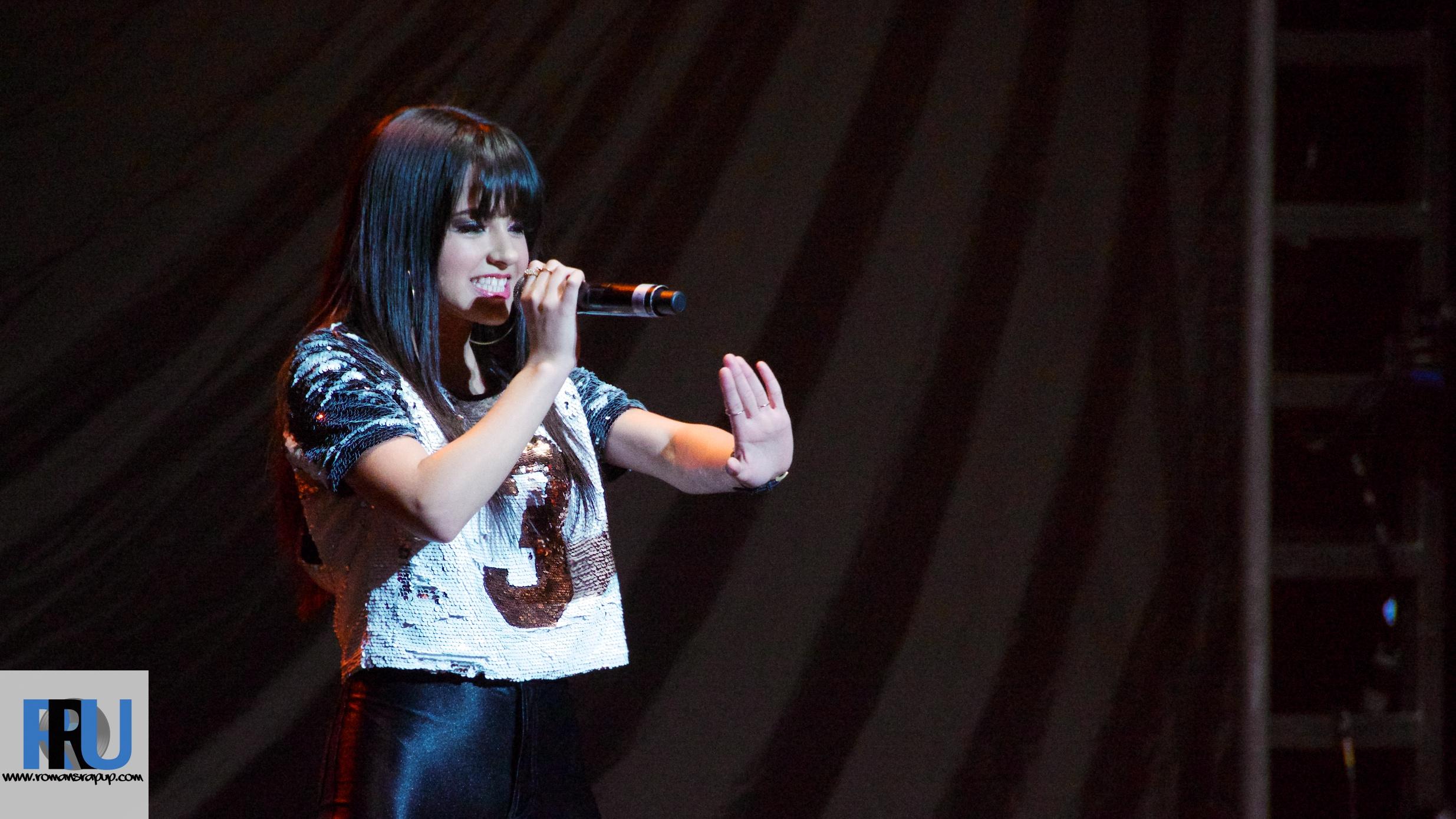 Becky G opening for Austin Mahone in March, 2014. (Benjamin Esakof/Roman's Rap-Up)