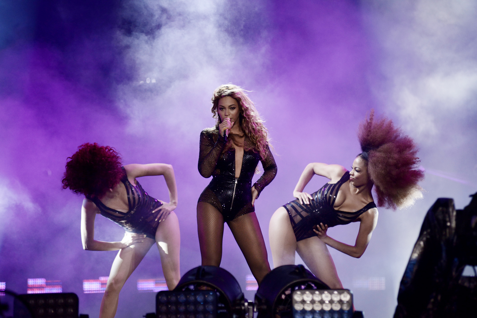 FOXBOROUGH, MA - JULY 1: Beyoncé performs on the On The Run Tour at Gillette Stadium on Tuesday, July 1, 2014, in Foxborough, Massachusetts. (Photo by Mason Poole/Parkwood Entertainment/PictureGroup)