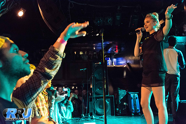 Clean Bandit performing in Boston, MA on September 19th, 2014 (Michelle Kwong/Roman's Rap-Up).