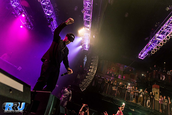 French Montana performs at the House of Blues in Boston, MA on December 8th, 2014 (Michelle Kwong/Roman's Rap-Up).