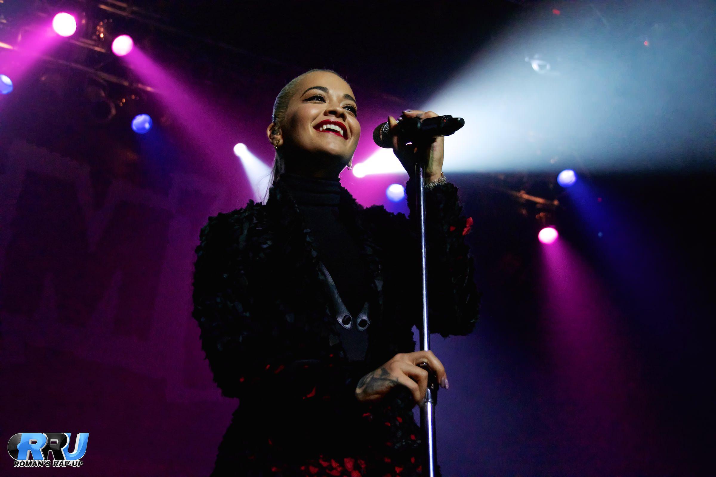 Rita Ora performs at Jam'n 94.5's Block Party on September 13th, 2015 (Benjamin Esakof/Roman's Rap-Up).