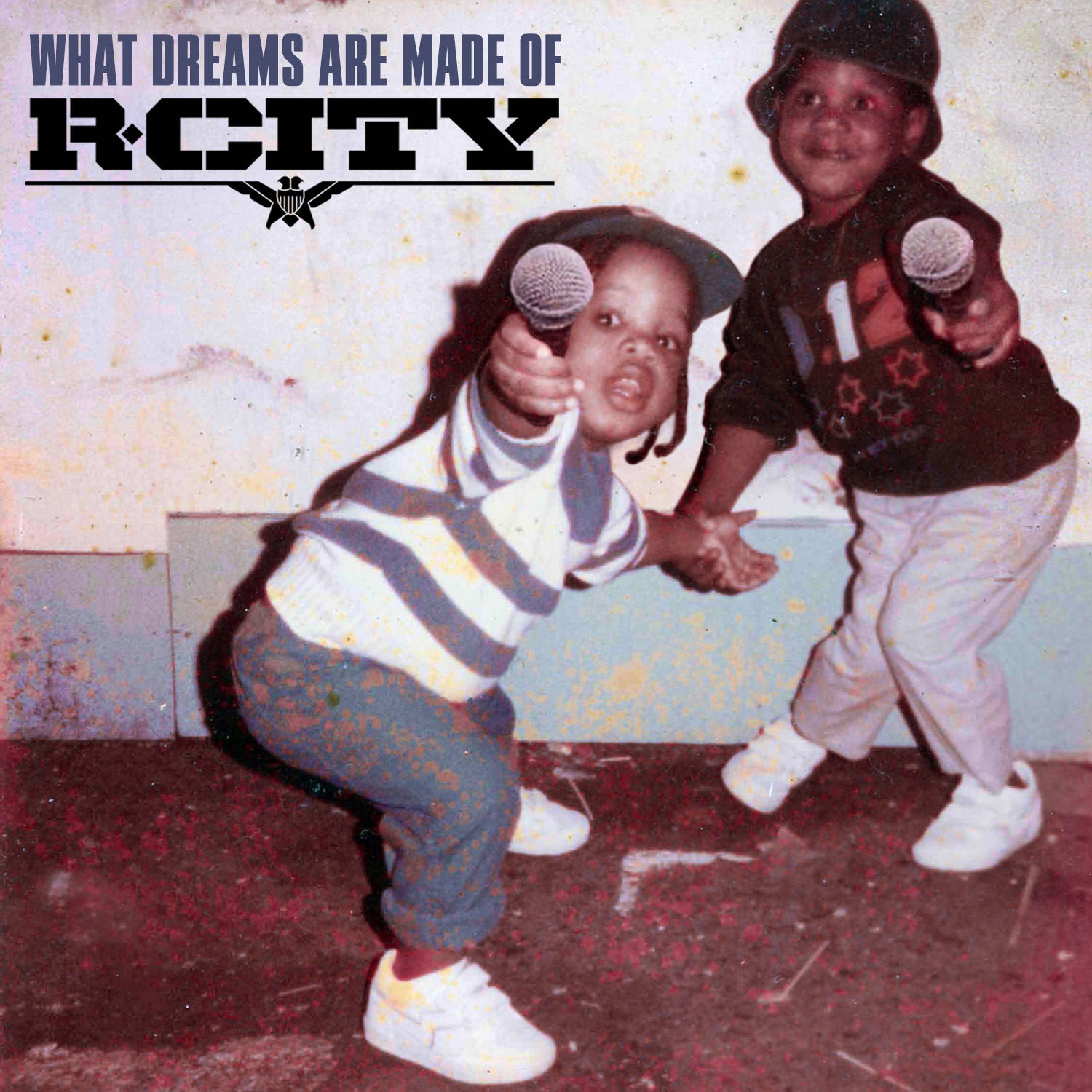 """What Dreams Are Made Of"" album cover (RCA Records)."