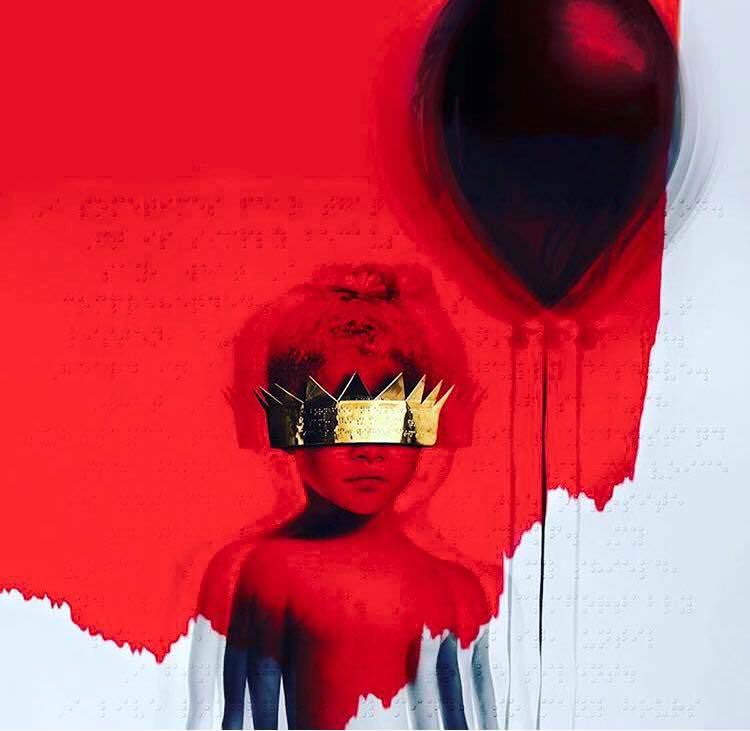 Anti  album art (Roc Nation).