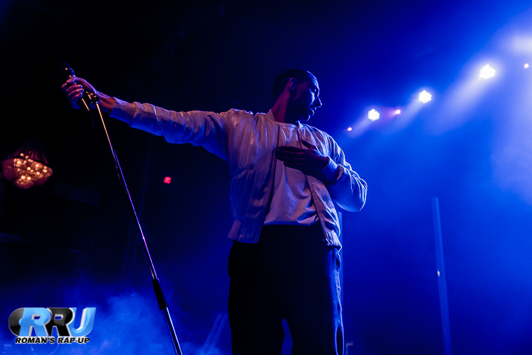 Majid Jordan performs in Boston on October 2nd, 2016 (Benjamin Esakof/Roman's Rap-Up).