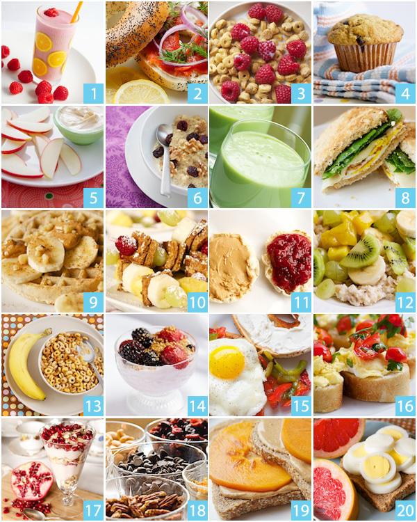 20 Health Breakfast Ideas
