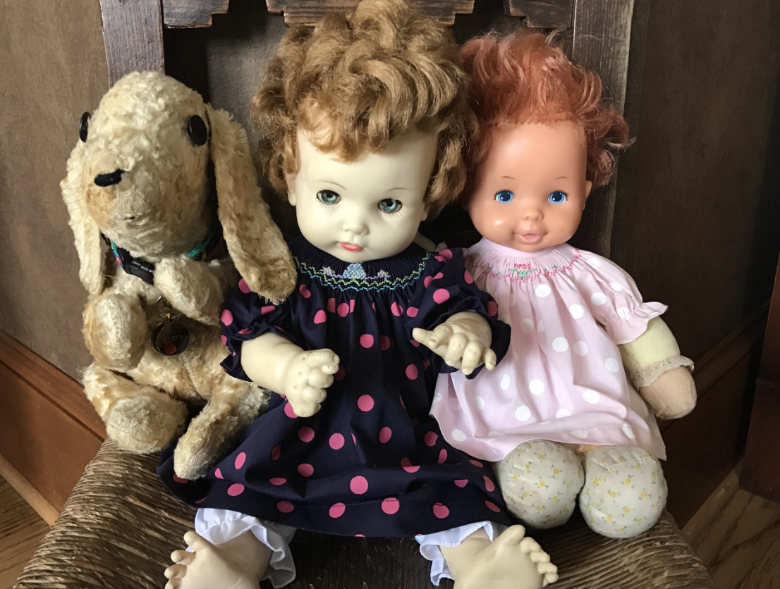 Rusty and the dolls
