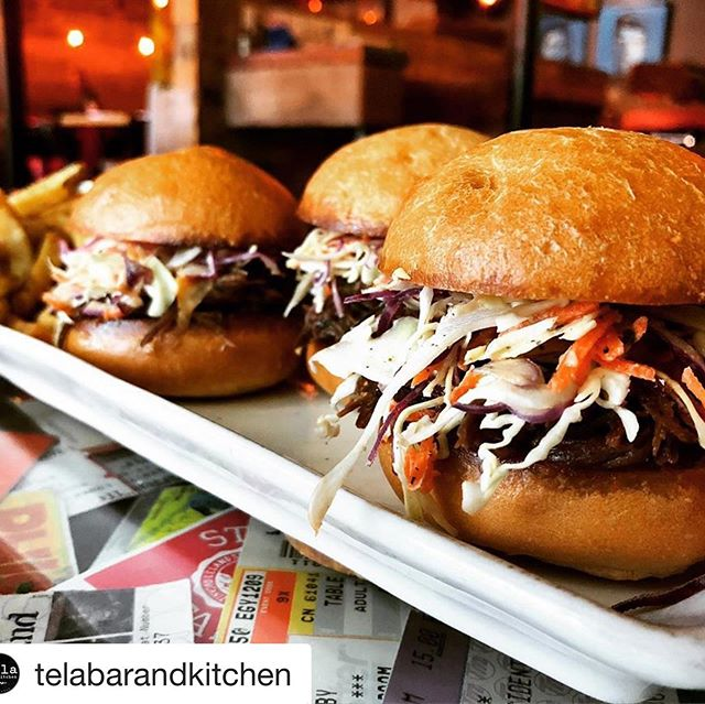 Hey kids make sure to hit up @telabarandkitchen this Saturday night if you're raging Dark Star in Cinci...no joke, it will be the first of many meals at @telabarandkitchen .....do it! 😉