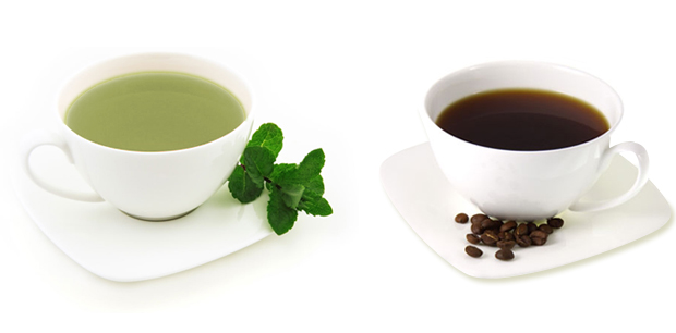 Tea Vs. Coffee Caffeine
