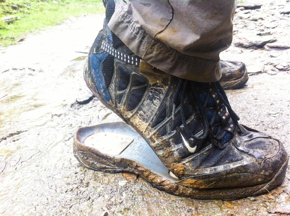 broken sole