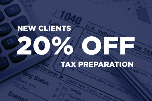 20% off for new clients.