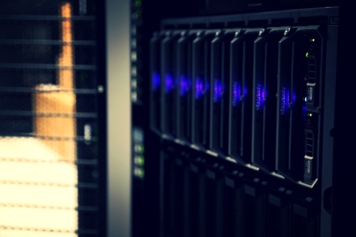 Your data, safe in one of our Tier 3 Datacenters