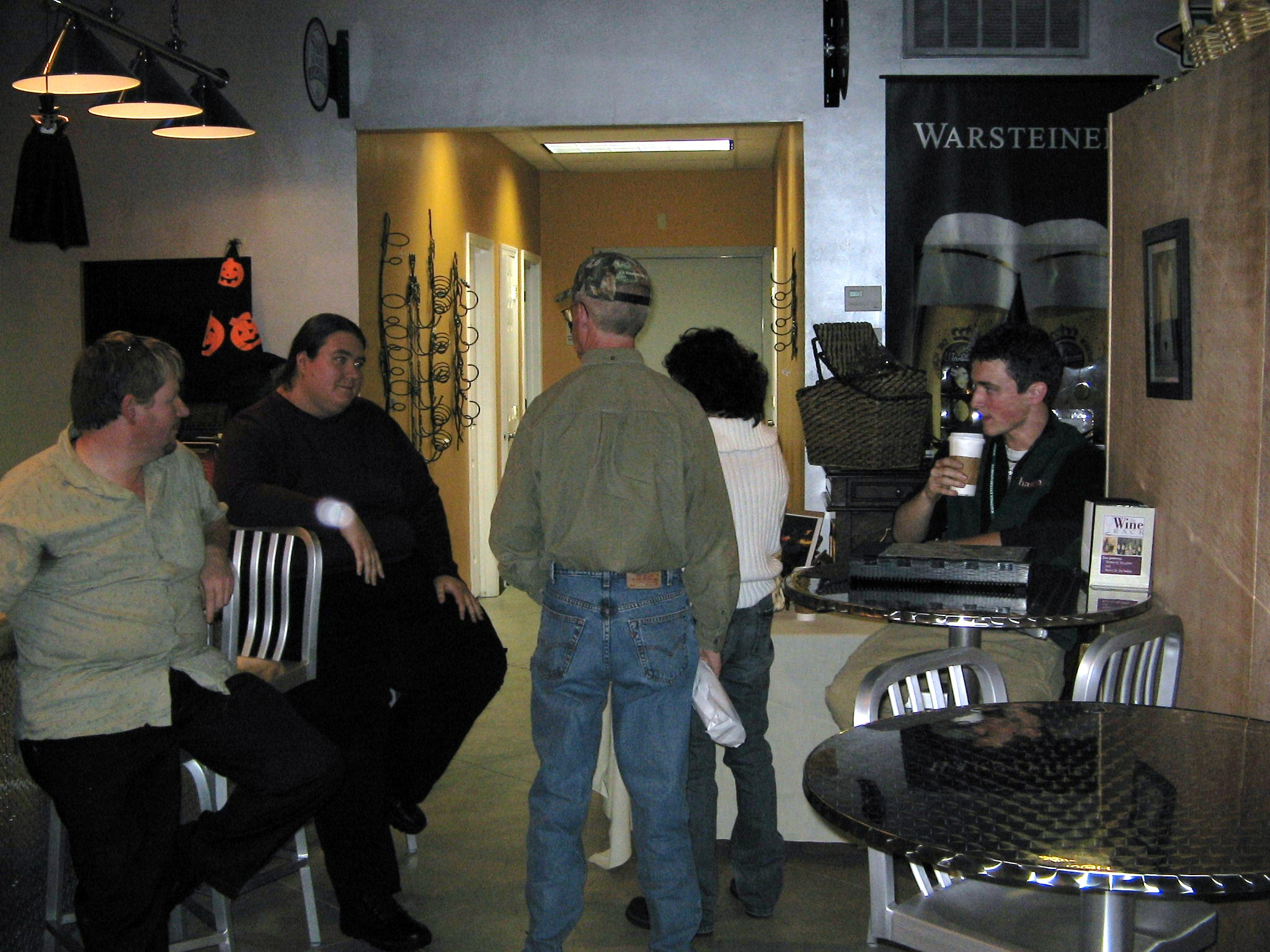 My Book Launch Party at the Wine Rack/Java Stop for Liquid Sky.