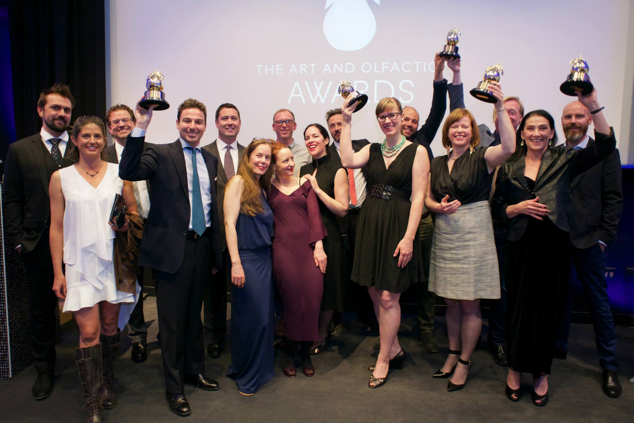 Art and Olfaction 2015 Finalists and Winners.