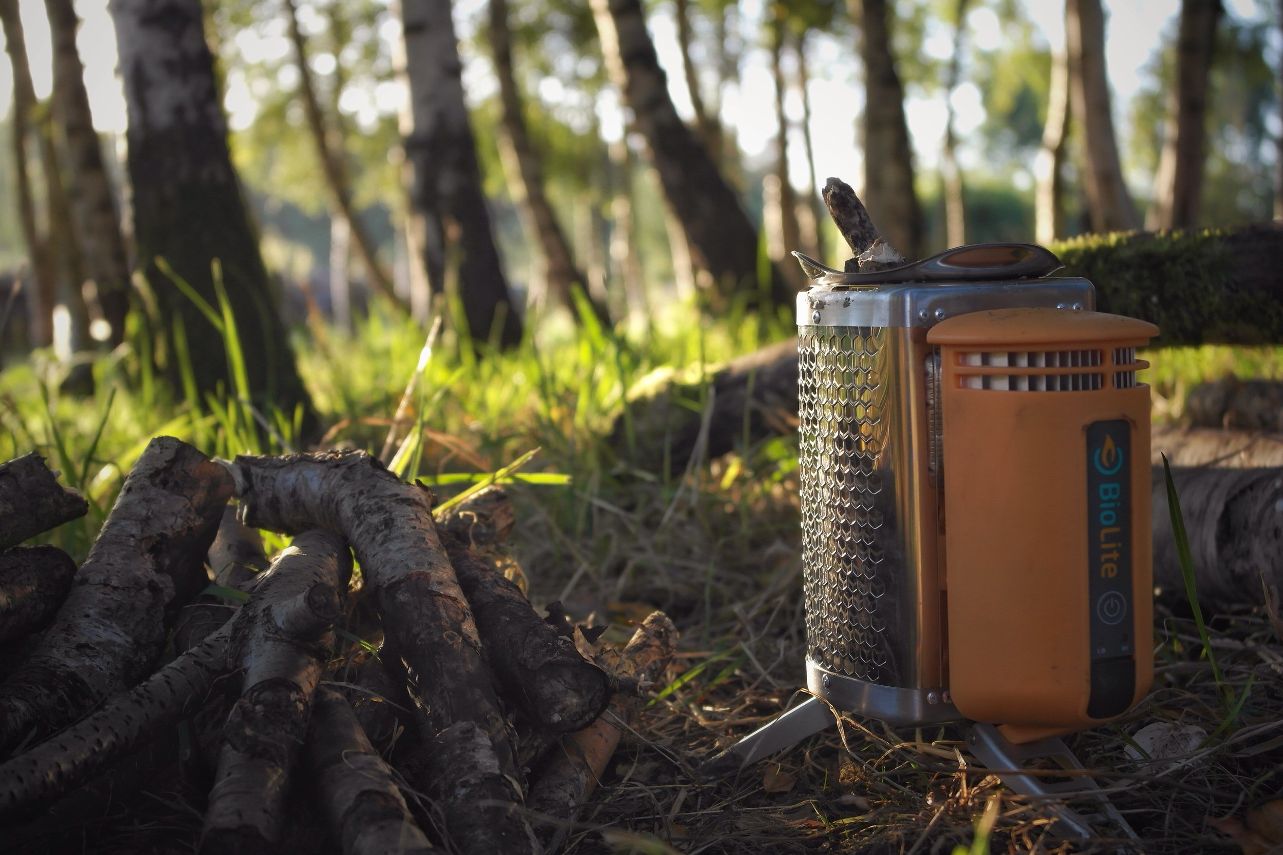 The Biolite Camping Stove. Unedited.