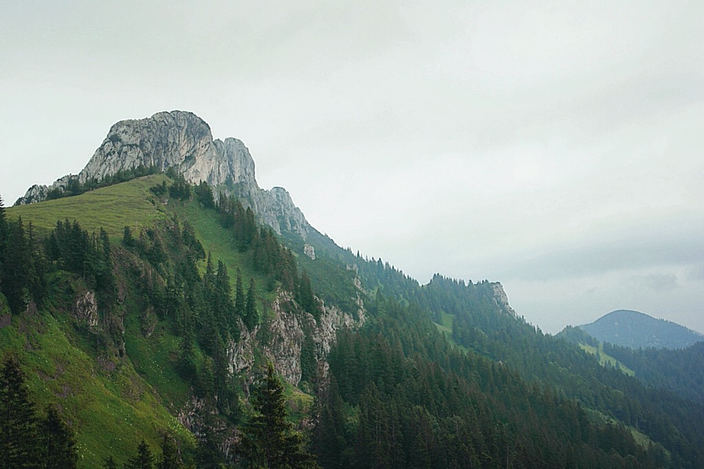 Bavarian Mountains in Germany. Provide an amzing location for hiking and exploring.