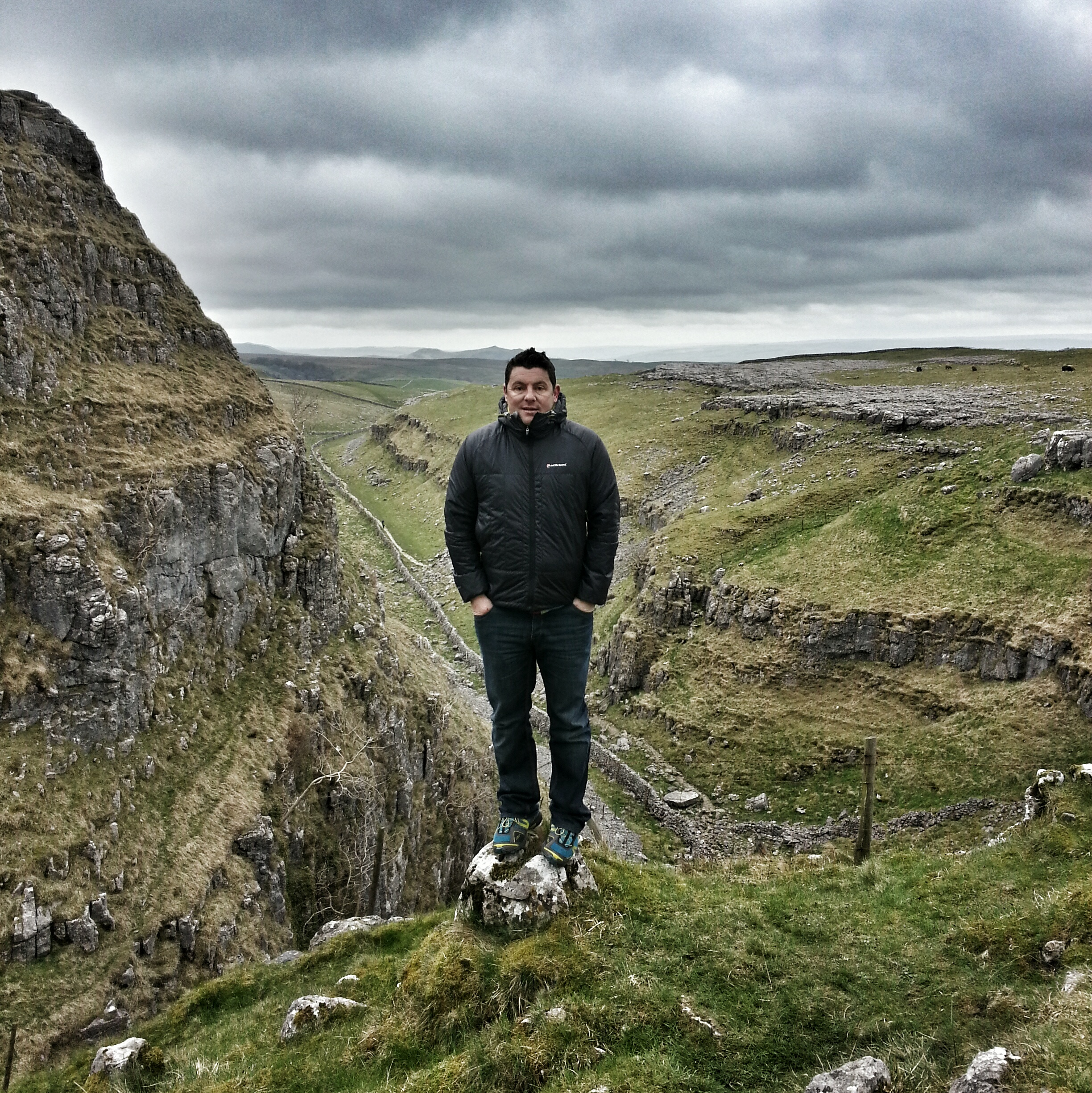 A cold and spontaneous visit to Malham Cove and surrounding areas.