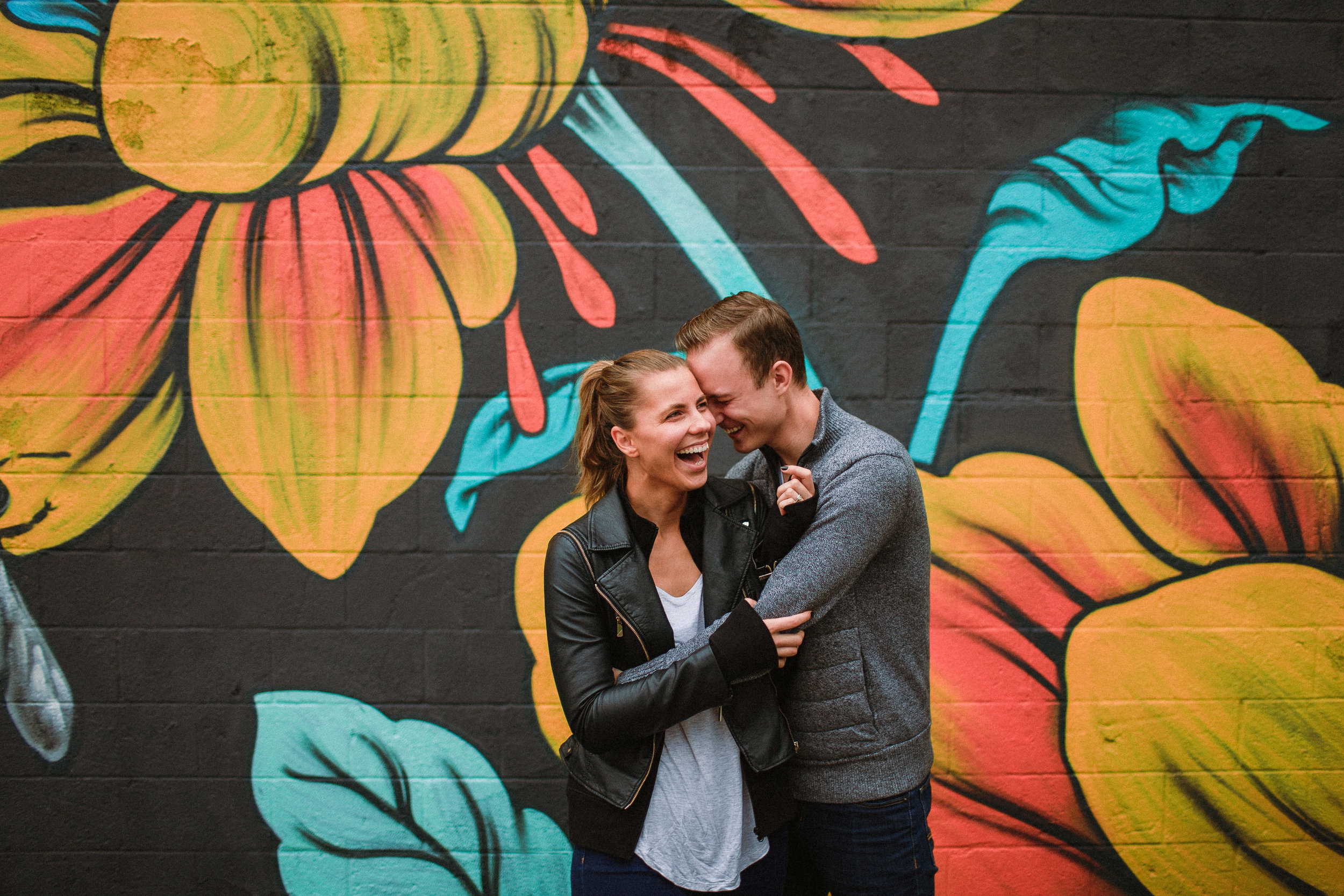 Chicago Grand Rapids Intimate Engagement Greenhouse Floral Shop Wedding