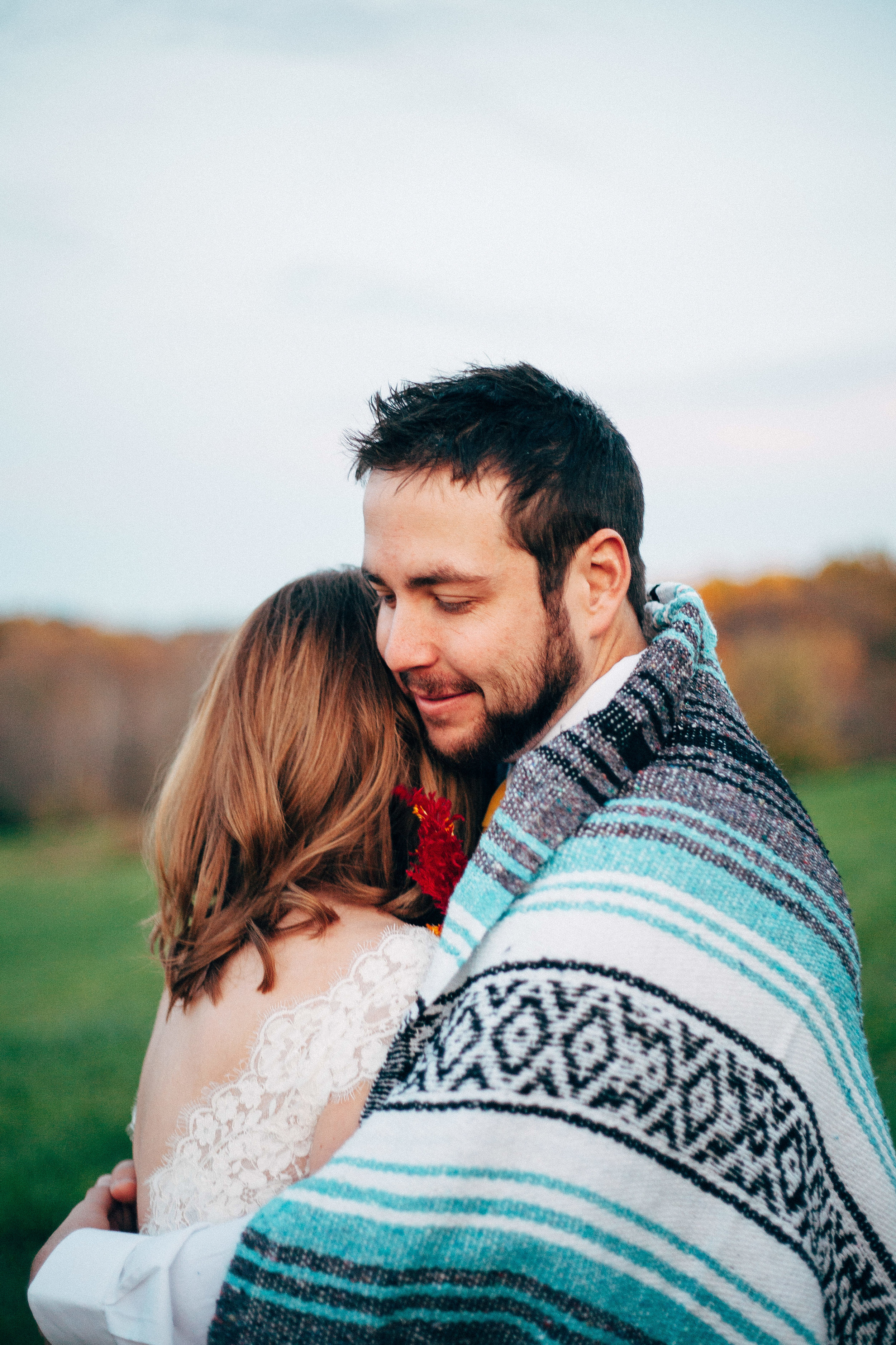 Quirky Colorful Wedding Photographers Effortless Timeless Outdoor Fall Elopement Images