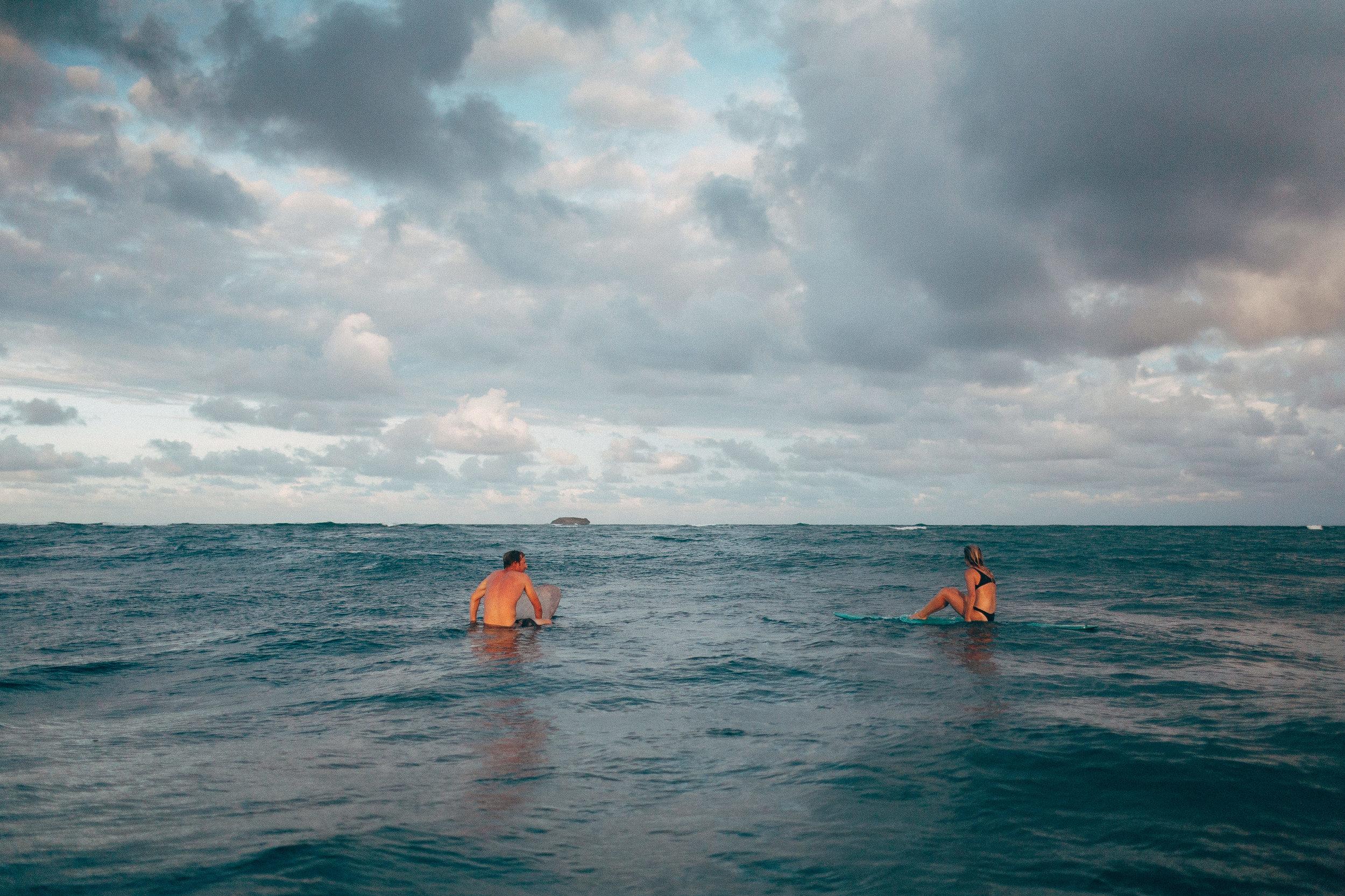 Underwater Wedding Engagement Photos Surfing in the Water Adventurous Photographers Lake Michigan