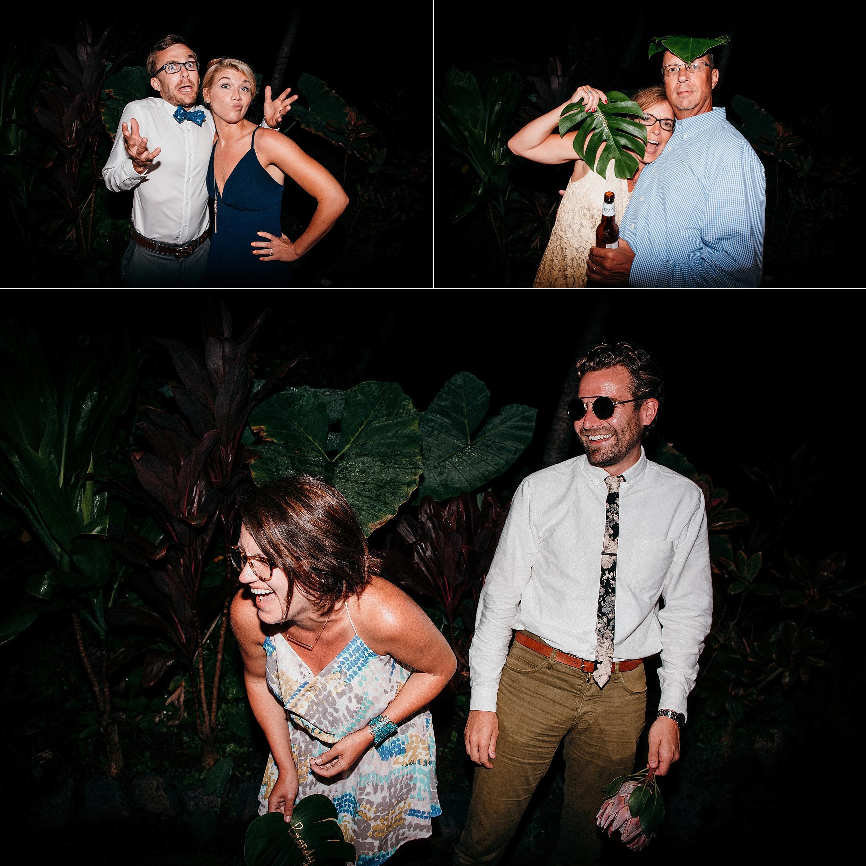 Small Bohemian Wedding on Maui Island