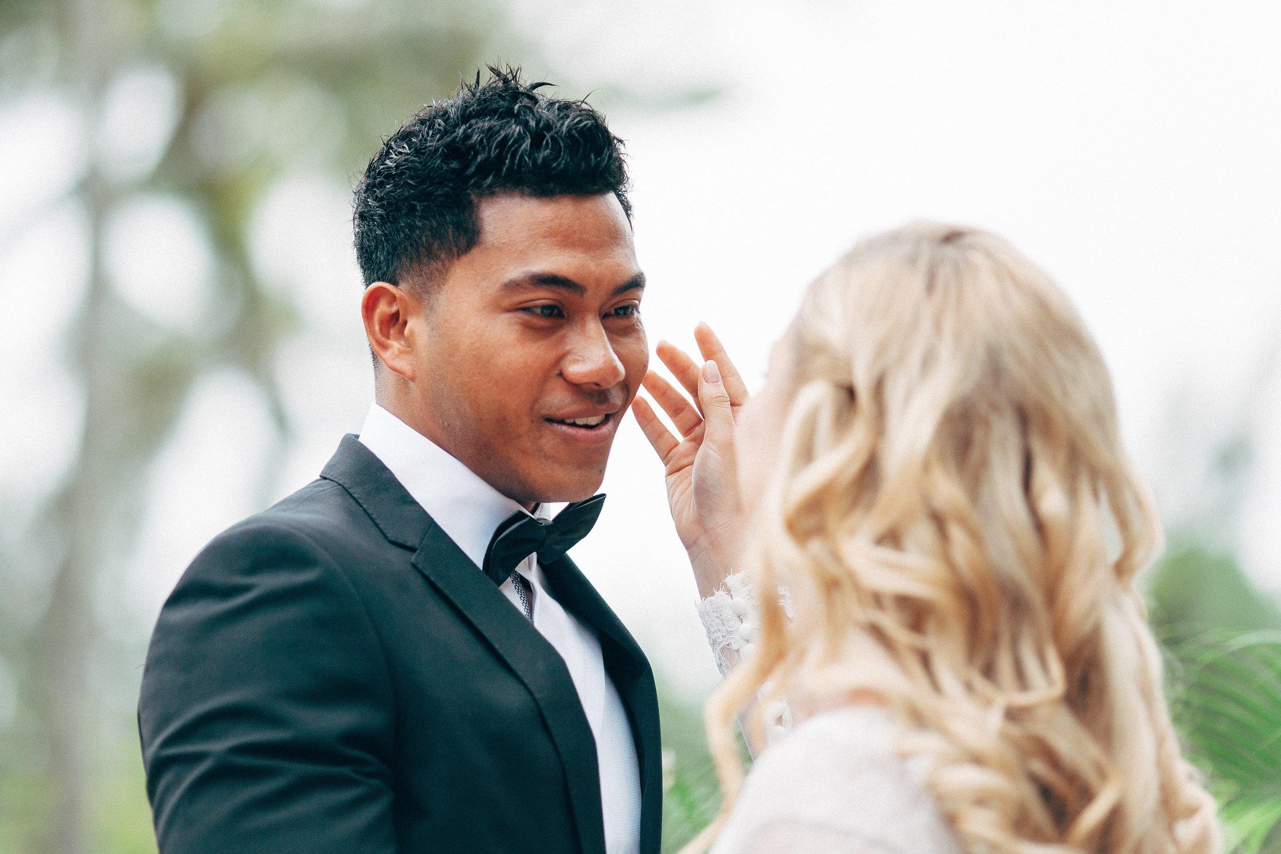 Etu when he first saw Lois on their wedding day.
