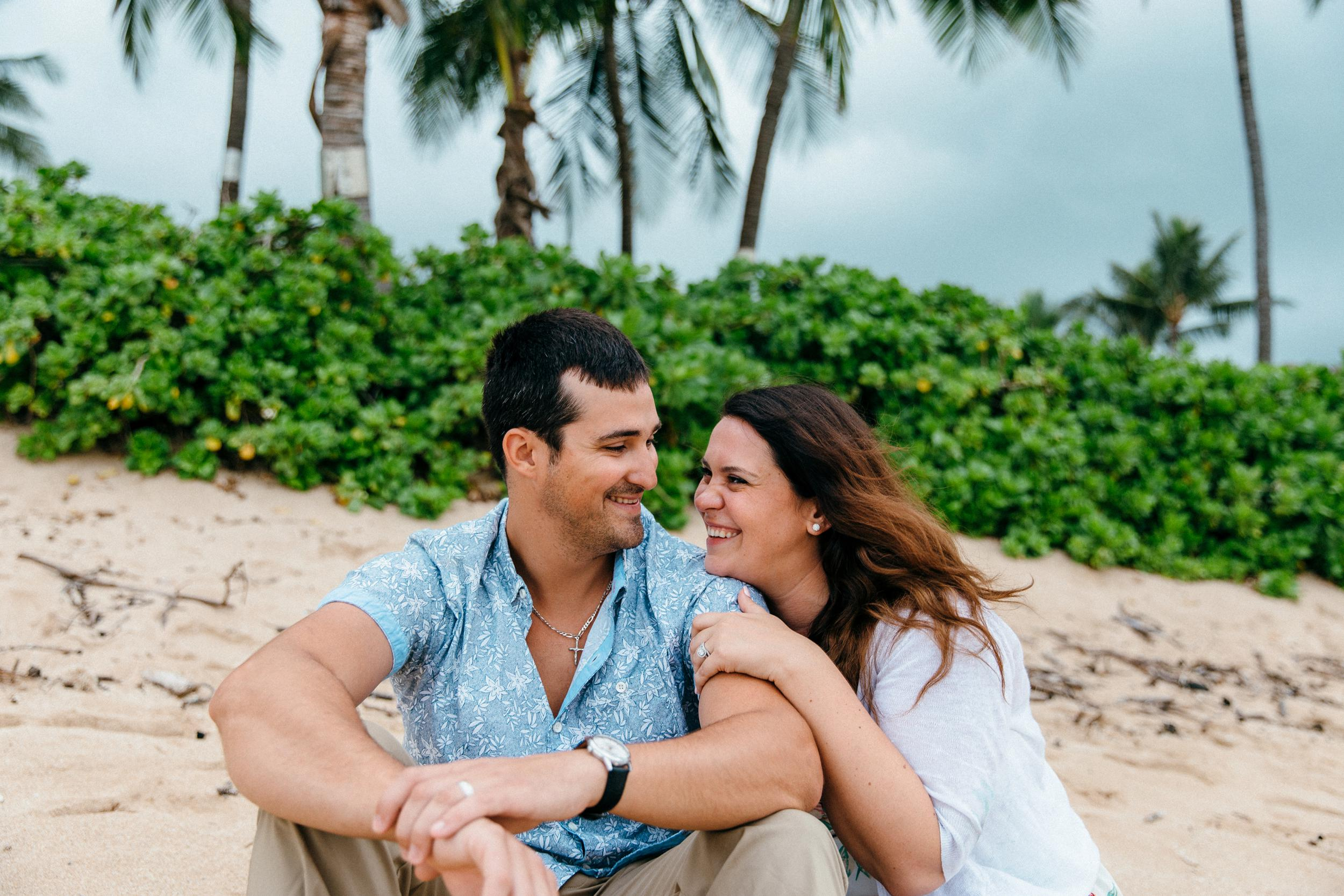 Fun In Water Hawaii Honeymoon Photographs