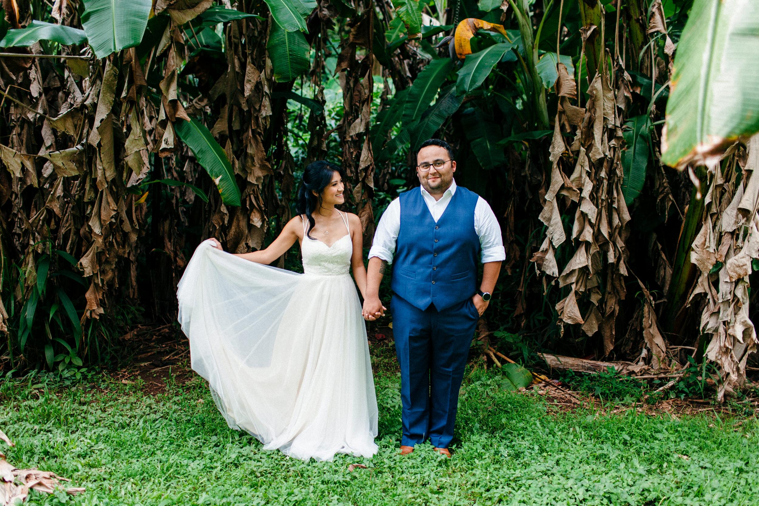 Amy and Danny - Are Married at Sacred Garden