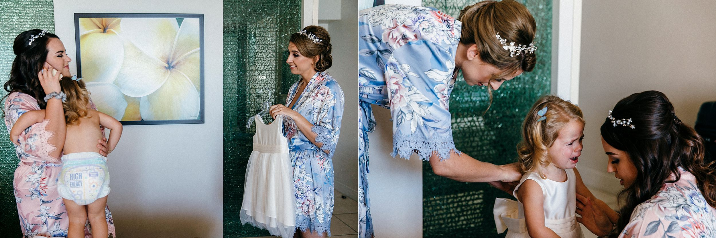 Getting Ready Images from a Honolulu Wedding