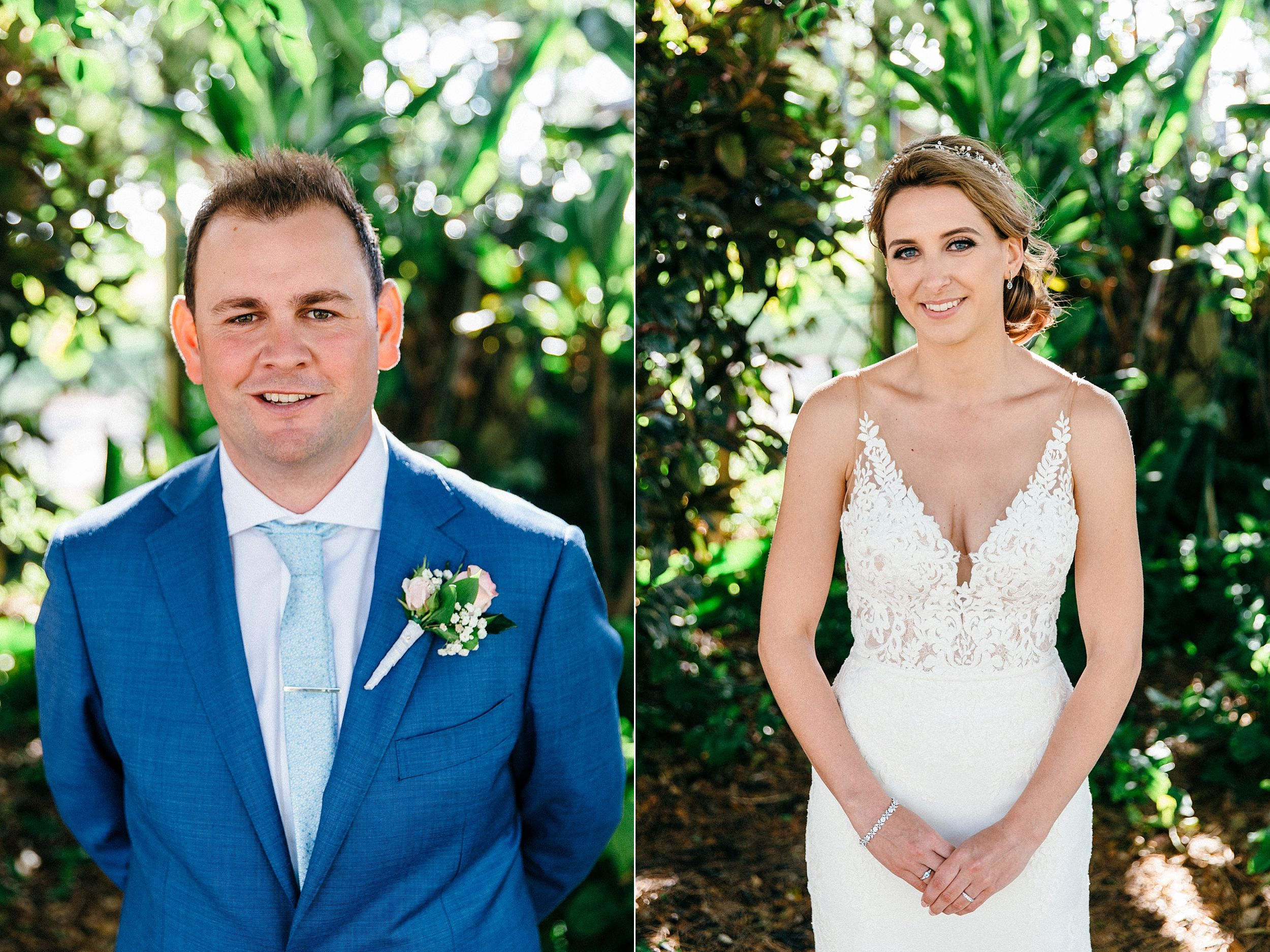Simple Hawaii Wedding Portraits
