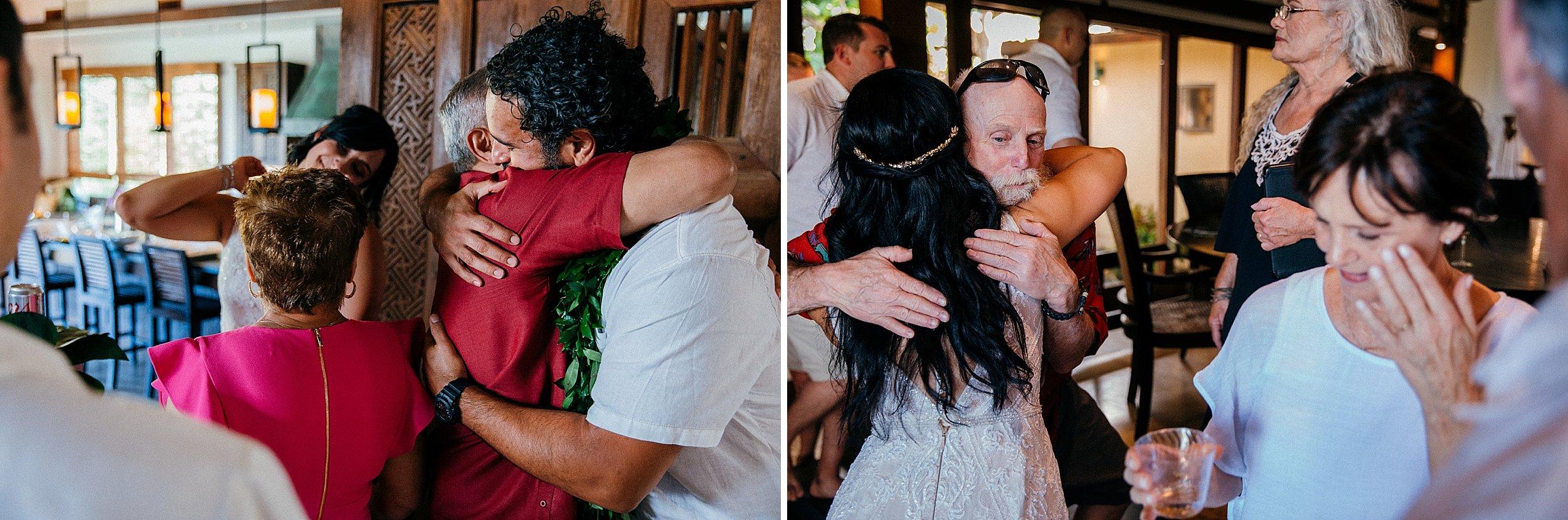 Victoria & Carlos - Backyard Oceanfront Wedding on Oahu's North Shore