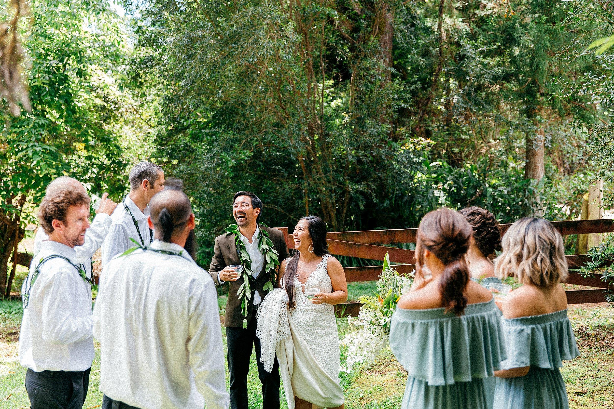Kirsten & Kyle - Backyard Wedding at Anna Ranch and Mauna Kea