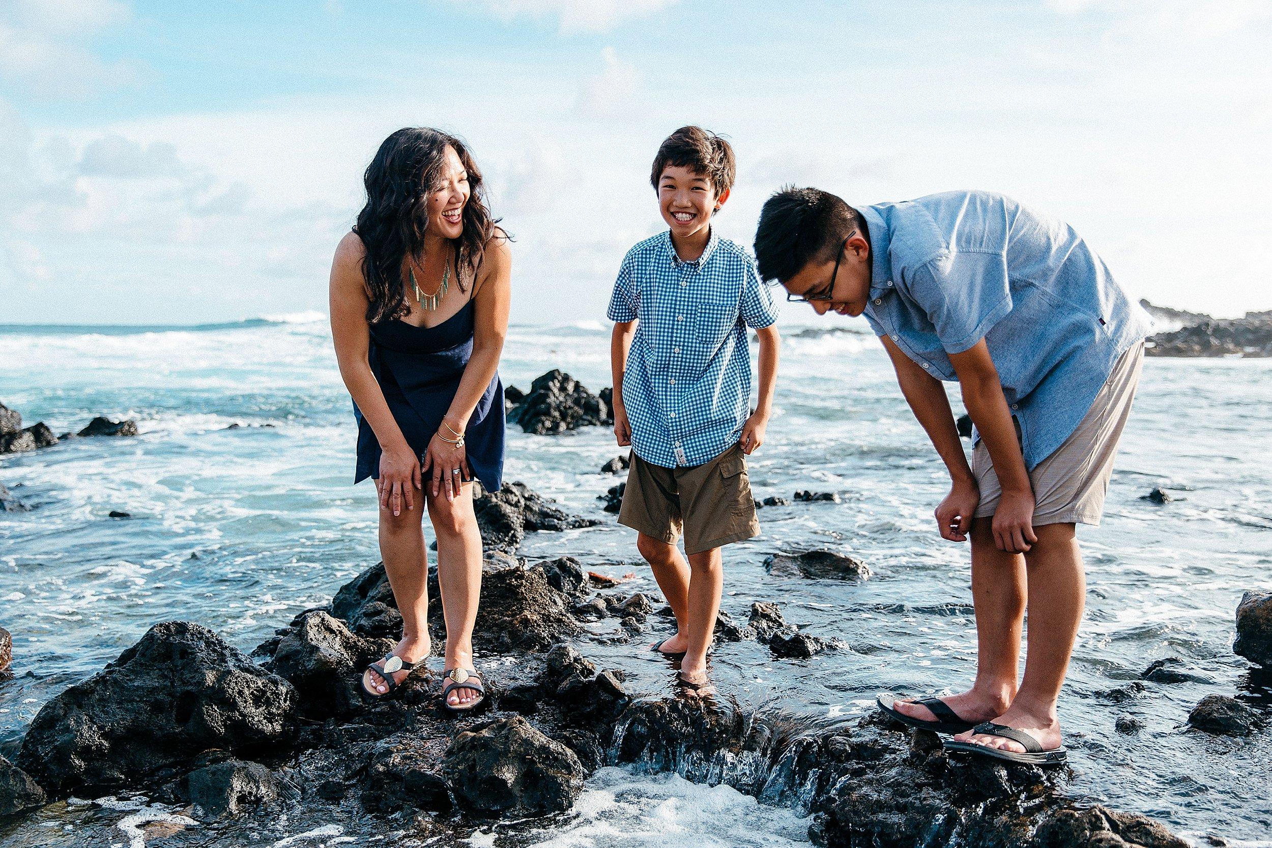 Alan Davis Beach and Koko Head vacation photos.
