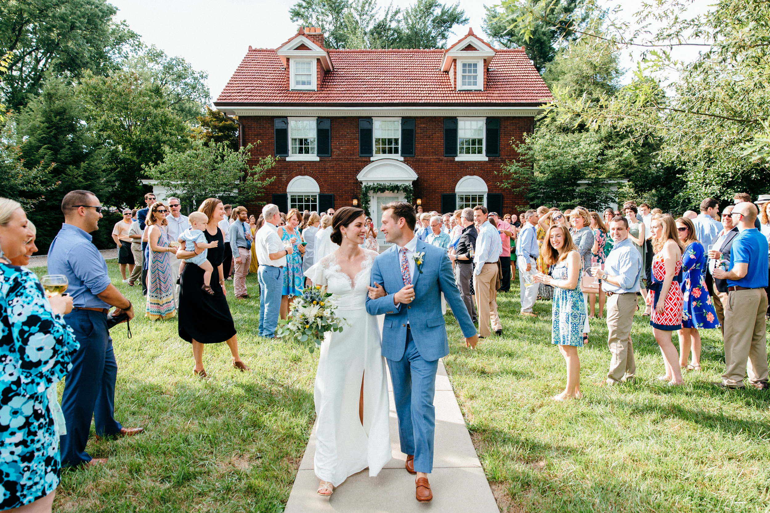 Backyard Surprise Wedding in Louisville, Kentucky