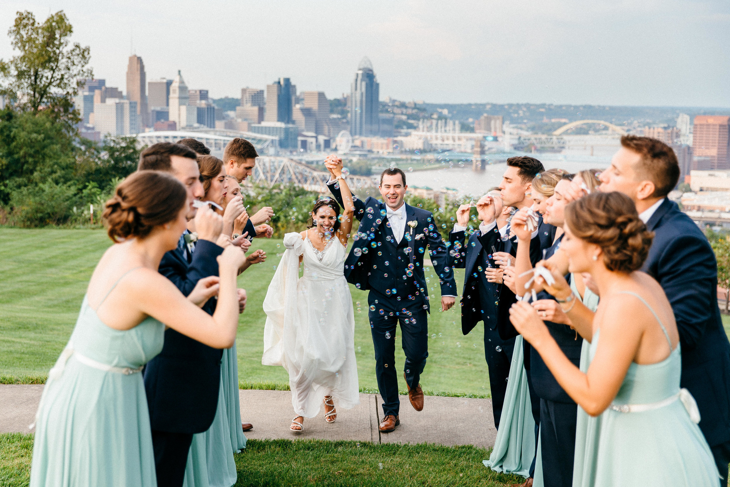 Cincinnati Wedding at Drees Pavilion