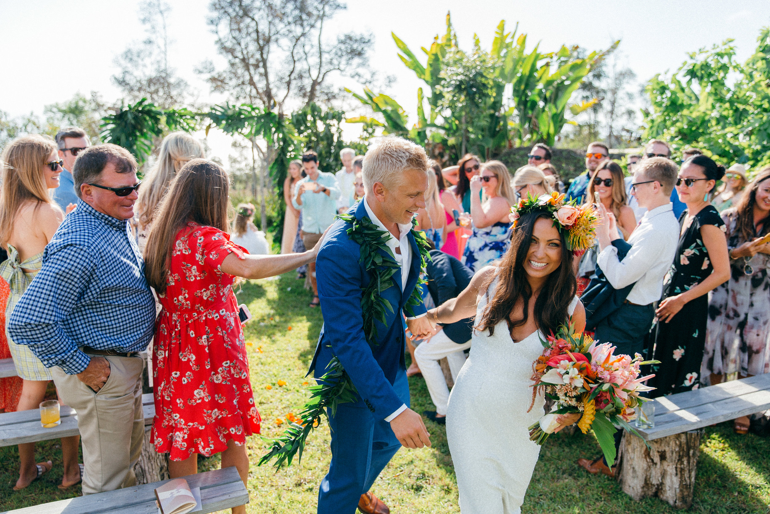Emily & Jay - Big Island Wedding at Sunshower Coffee Farms