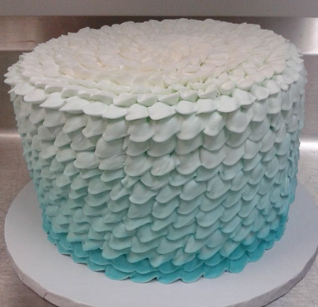 Buttercream Ribbons Ombre
