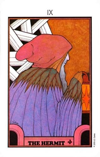 From the Aquarian Tarot by David Palladini