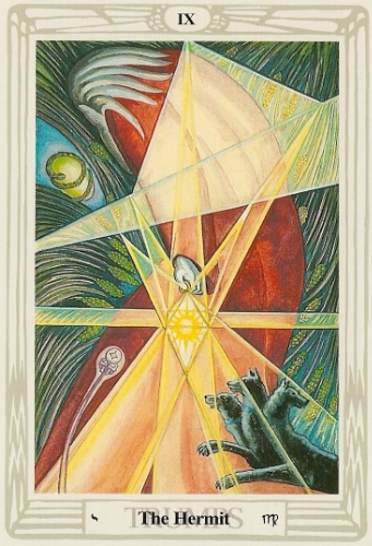 From the Crowley Thoth Tarot