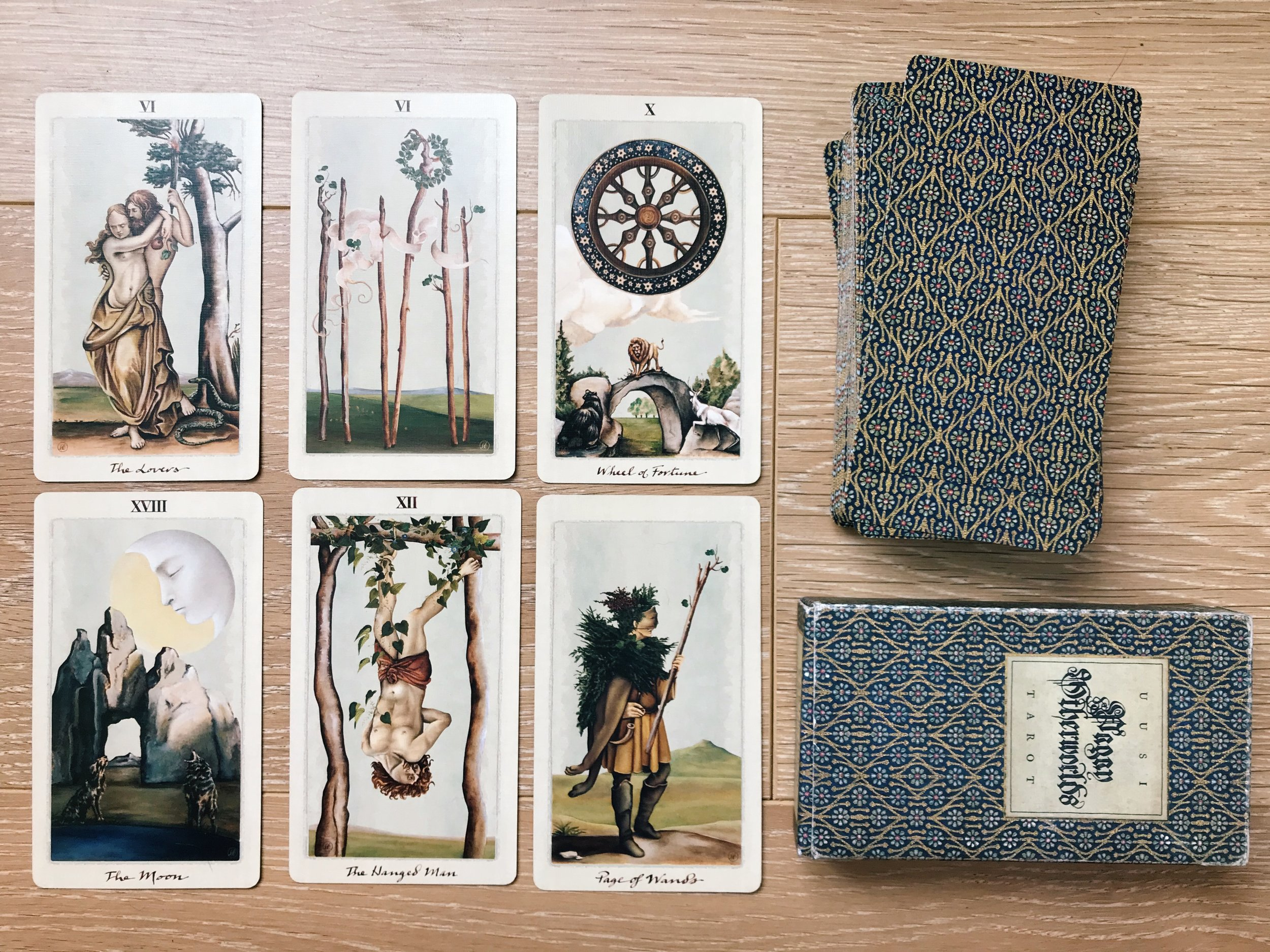 tarot spread for moving house change