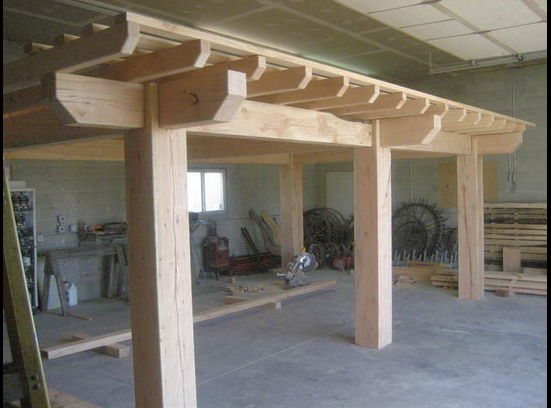 A good majority of the work is prefabricated off site