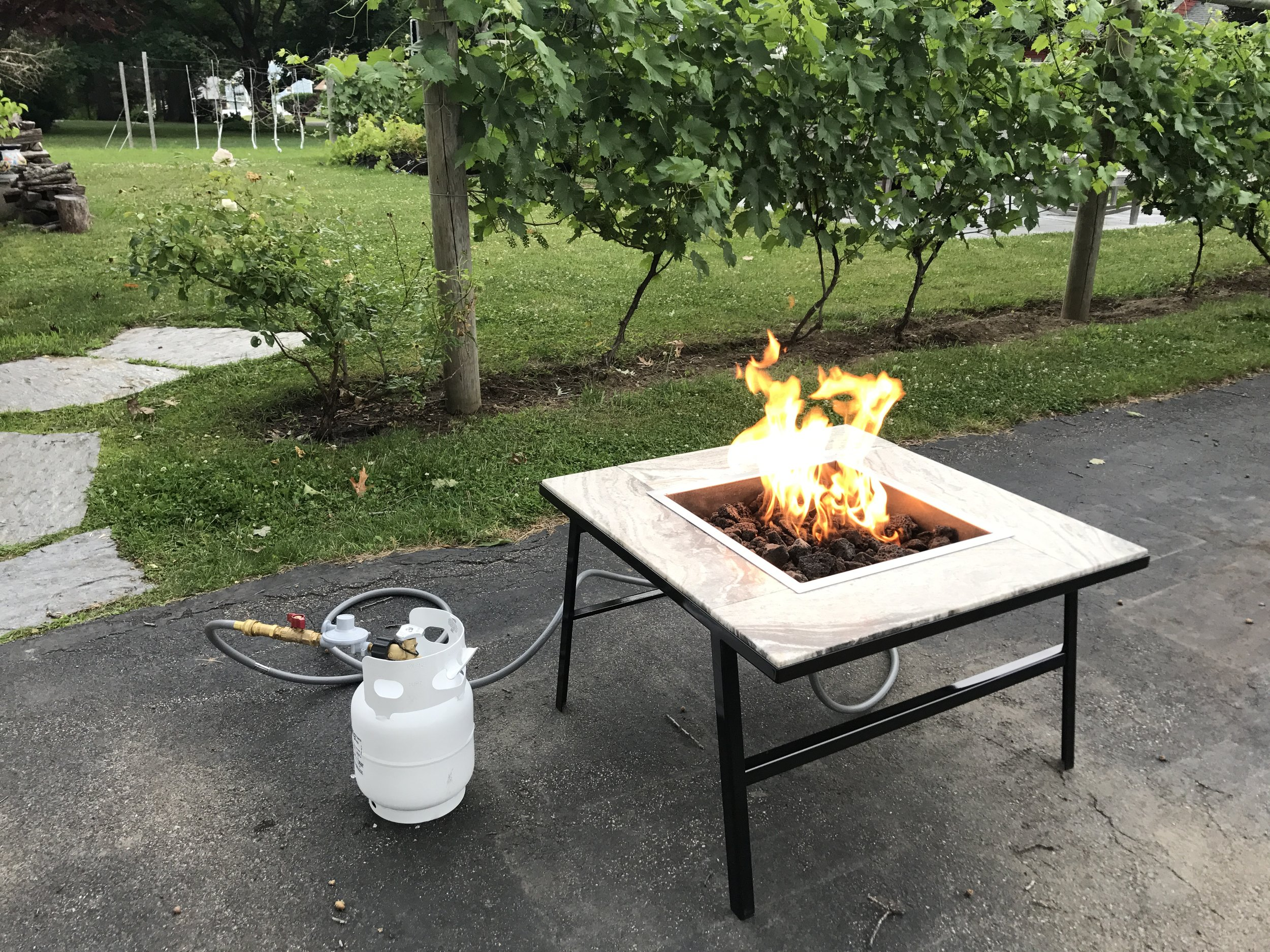 Select above or here to see a Gallery of KSV 4IN1 Fire Pit pictures.