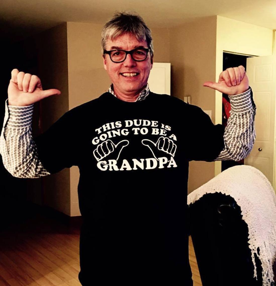 Le grand-père est content!