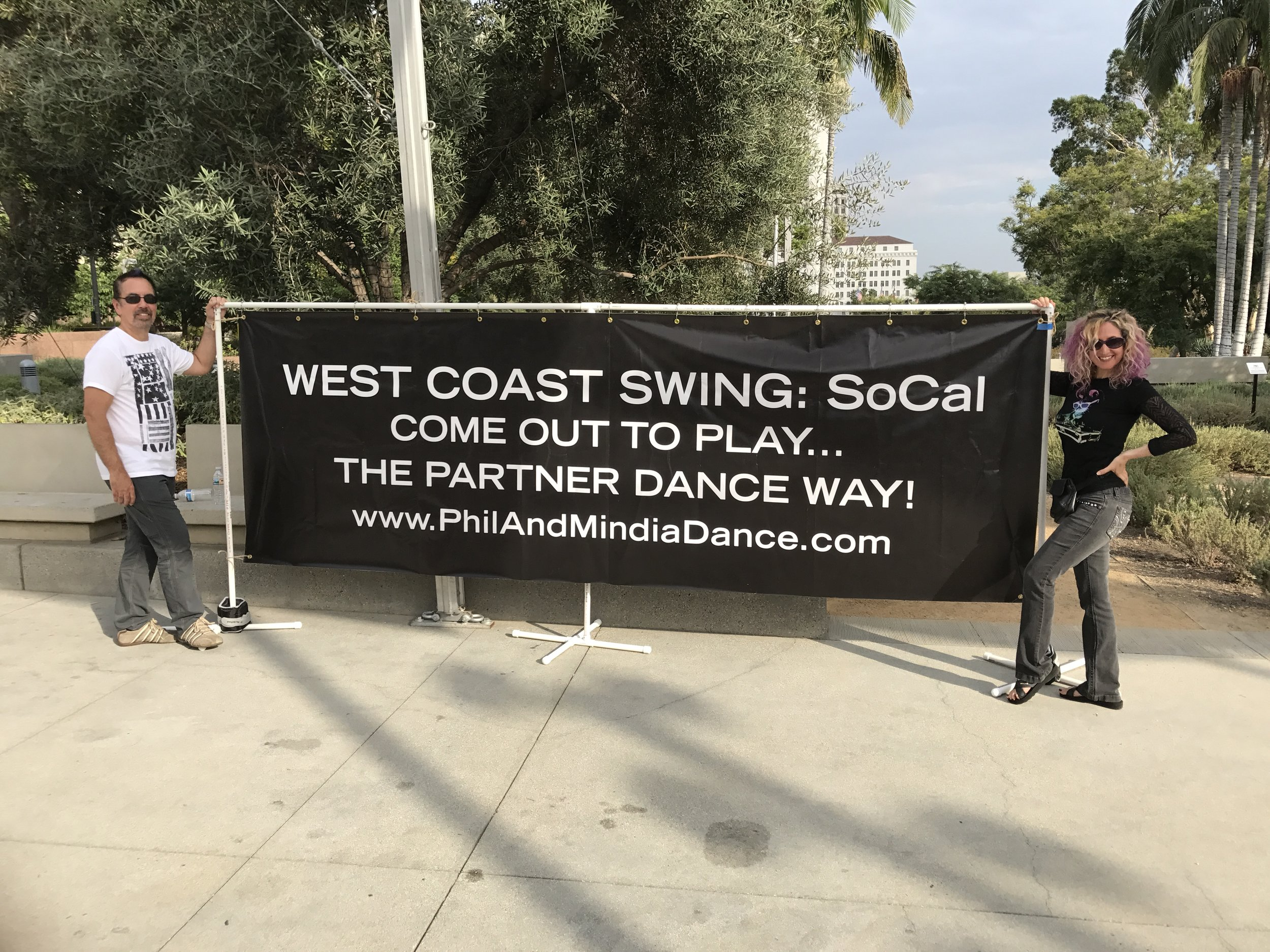 (THANKS TO STEVE STINGLEY FOR THE GREAT PIC ABOVE! IT'S FROM OUR FLASHMOB 2017 EVENT AT GRAND PARK IN LOS ANGELES.)
