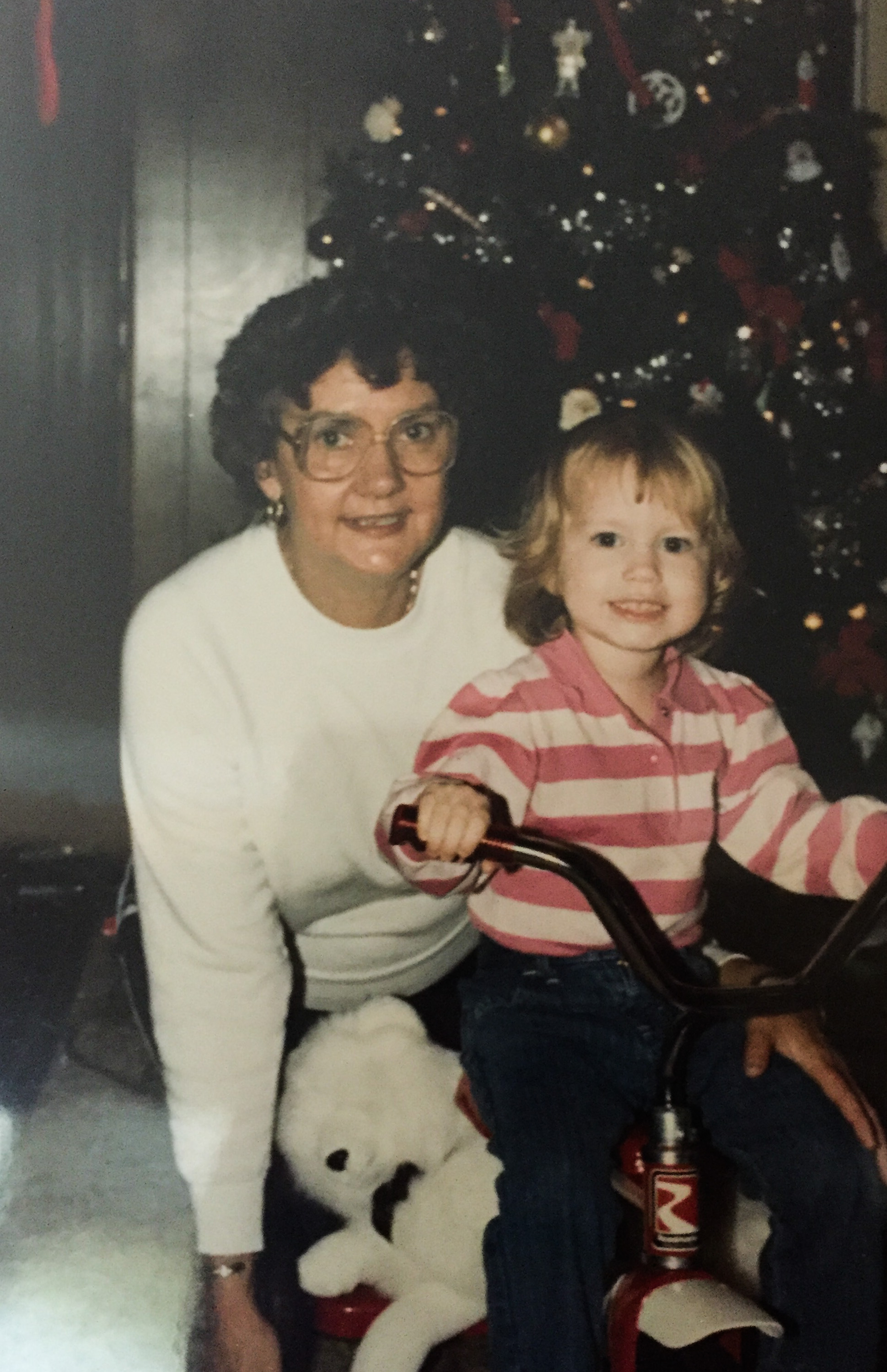 """My """"Mimi"""" and me, early 1980's."""
