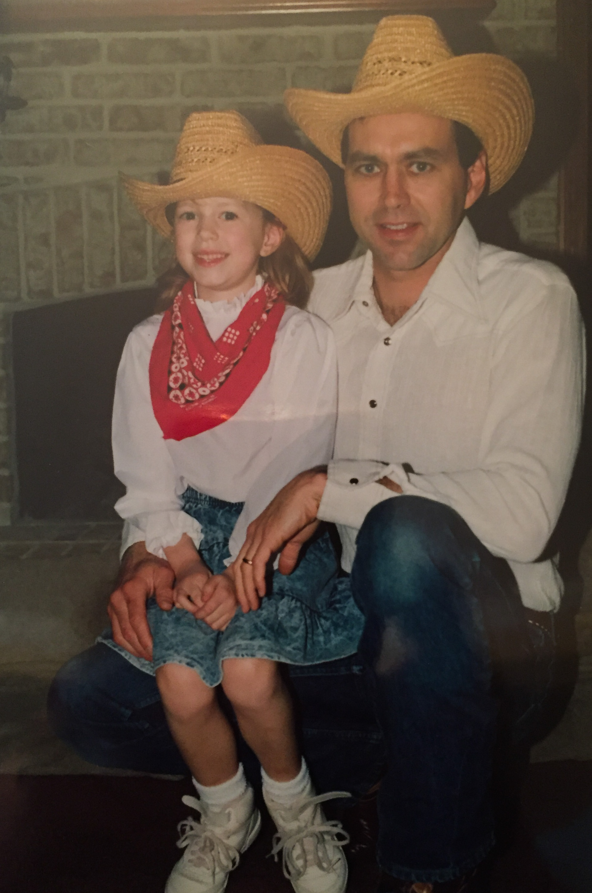Me and my Dad + Texas vibes. Mid 1980's.