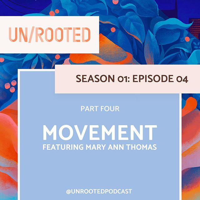 🎧✨ New episode! • This weekend the fourth episode of @unrootedpodcast came out! It's a celebration of what comes between packing and unpacking...movement! • In this episode I talk to writer/long-distance cyclist/travel nurse Mary Ann Thomas @postcardsfrommat about home: home in movement, home in migration, home on the bicycle, going home, and homelands! • Find it wherever you listen to your podcasts! 💗 • #newpodcastepisode #unrooted #whereishome #whereishomeanyway #movement #longdistancecycling
