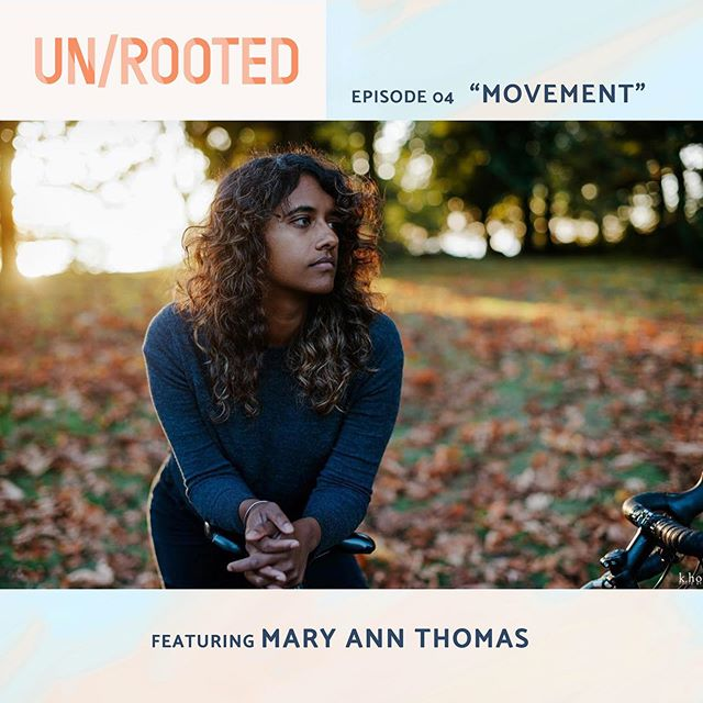 If you haven't already listened to it yet, check out episode 04 of @unrootedpodcast! This episode features Mary Ann Thomas @postcardsfrommat. She talks about finding home on the bicycle, creating and finding home on the move, rootlessness, homelands, and so much more. There are so many lessons within the physical act of moving, and the actual state of moving can become a home in itself. Moving is hard, it takes work, but it can also be beautiful... here's to movement! 💙🧡💙 • Photo by: @photosbykho • #whereishomeanyway #goinghome #movinghome #unrooted #longdistancecycling